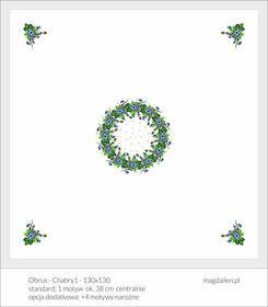 Obrus - Chabry1-130x130cm