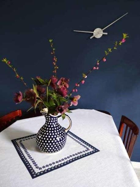 Obrus - Oko Kwiatek 4 - 100 x 100 cm (1)